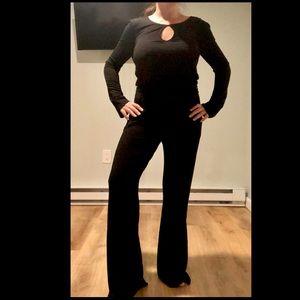NWOT Feel The Piece long sleeve keyhole jumpsuit